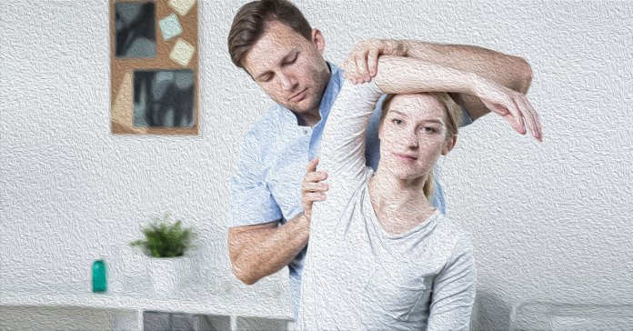 Exercises to cure rotator cuff injury.
