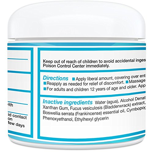 Recoverex OTC Pain Relief Cream [2 Ounce] for Joint Pain ...