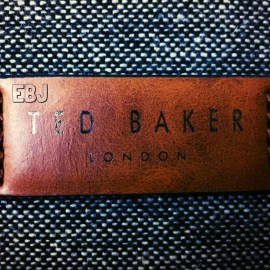 Making a statement; Ted Baker