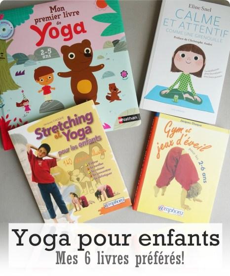 livres yoga enfant
