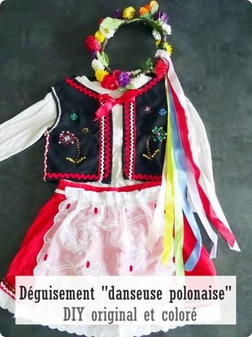 déguisement danseuse polonaise
