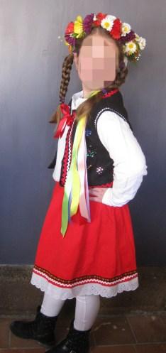 déguisement danseuse polonaise diy