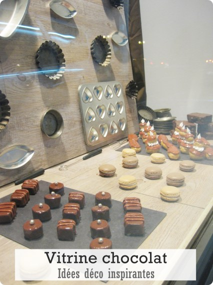 vitrine chocolat