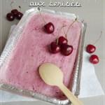 Crème glacée aux cerises -Thermomix