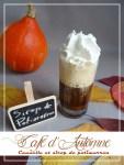 Café d'Automne, cannelle et sirop de potimarron