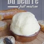 Du beurre fait-maison-Recette thermomix