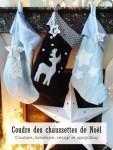 Coudre des chaussettes de Noël-Upcycling