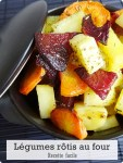 Légumes rôtis au four-Recette facile.