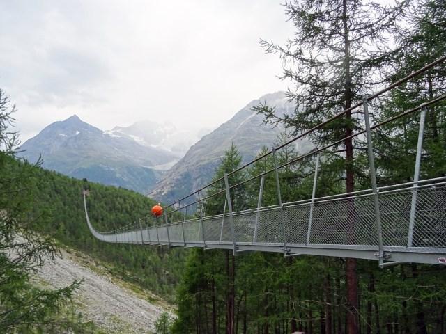 Pont suspendu Randa