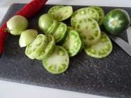 Pickles tomates vertes