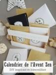 Calendrier de l'Avent Zen - DIY inspirant et bienveillant
