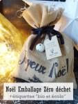 Noël : emballage zéro déchet et étiquettes bio et écolo