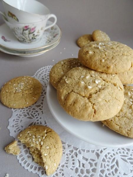 Biscuit purée de sésame