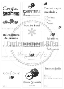 Etiquettes Confiture Prunes 04a