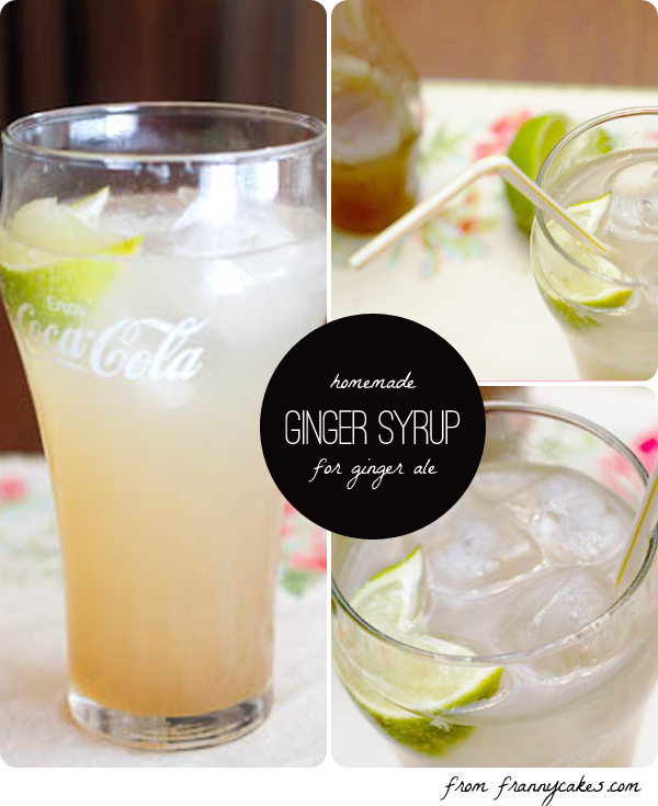 gluten free ginger syrup ginger ale