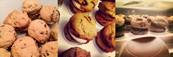 more cookie sandwiches