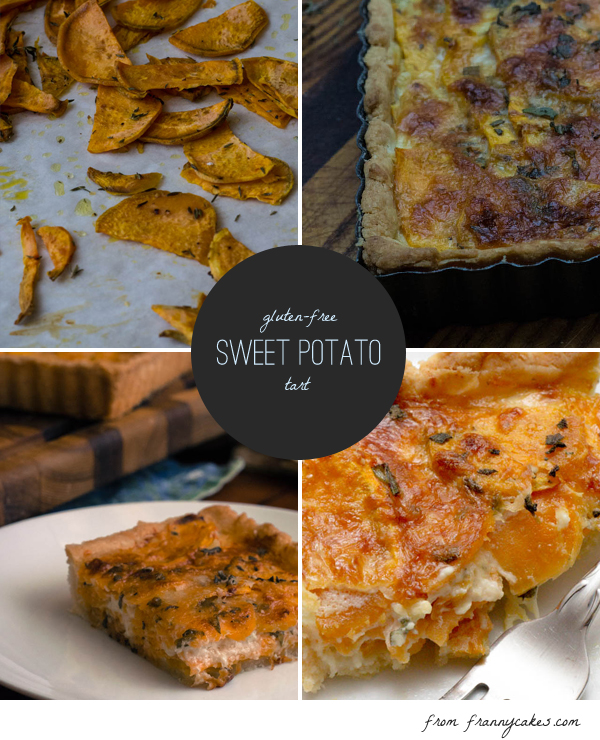 gluten free sweet potato tart