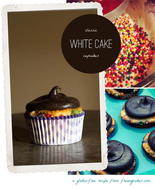 gluten free white cupcake recipe