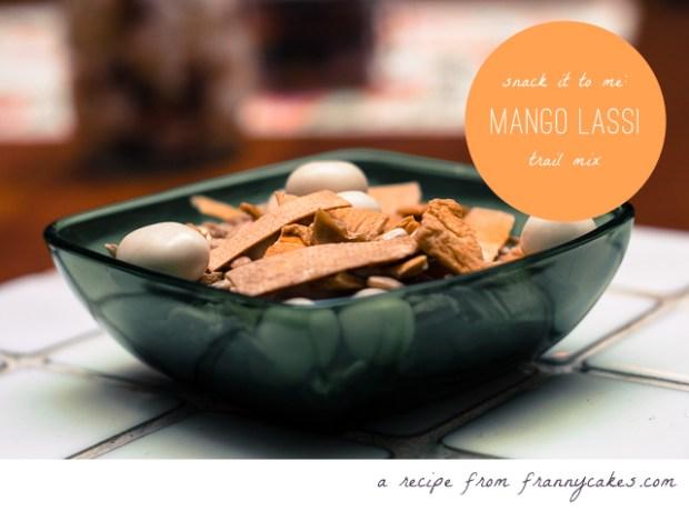 gluten free trail mix mango lassi