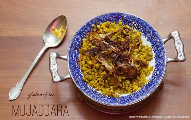gluten-free mujaddara from frannycakes