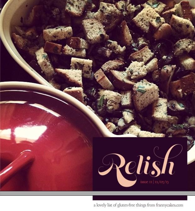 Relish 11   November 2013   Lovely Gluten-Free Things