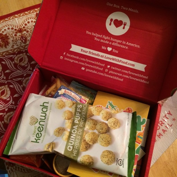 June Box from Love with Food
