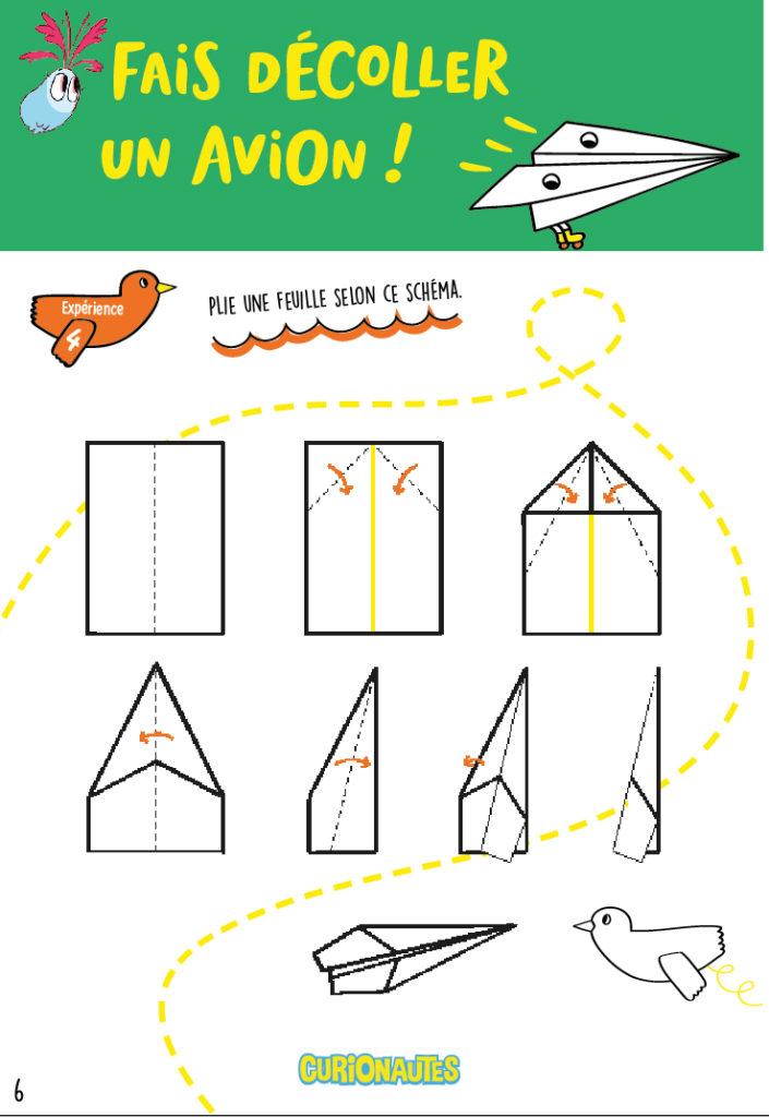 Comment Faire Des Avions En Papier : comment, faire, avions, papier, Fabrique, Avions, Papier, Curionautes, Sciences