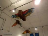 Valigie-pappagallo volanti