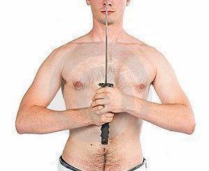 hombre espada