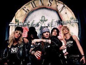 Quieren reunir a los Guns'N'Roses originales