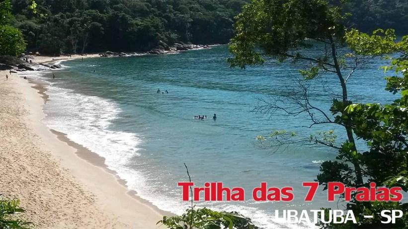 Trilha das 7 Praias Ubatuba