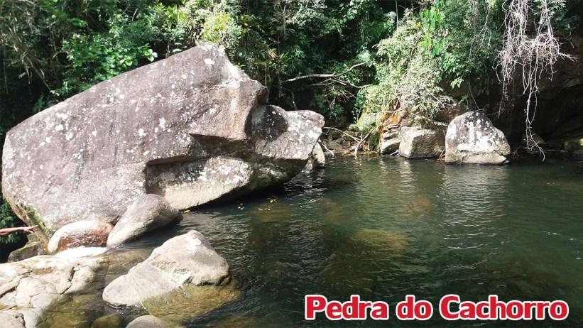 Cachoeira dos 3 Poços - Pedra do Cachorro