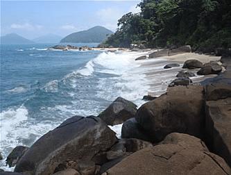 Praia Brava de Itamambuca