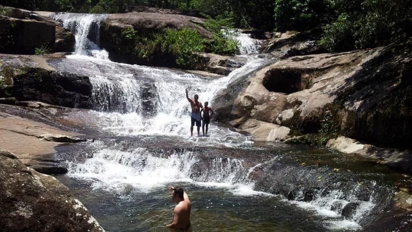 Cachoeira da Boa Vista - Ubatuba