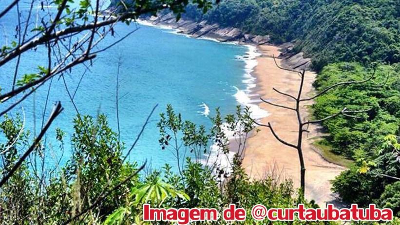 Praia do Simão - Curta Ubatuba