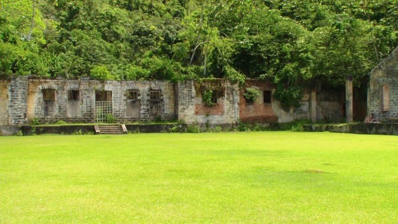 Ilha Anchieta - Presidio