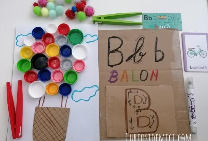 Litera B de la BALON