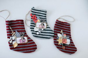 Petites chaussettes de noël