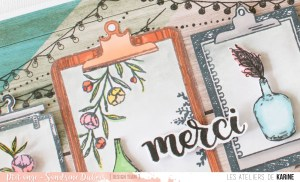 Carte Merci en Green & graphic