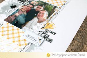 Invitée créative – Mes P'tits Ciseaux – Page «A la folie»