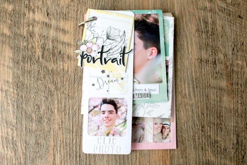 mini album Portraits