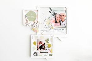 Invitée créative Ephéméria – Cadre «Family»