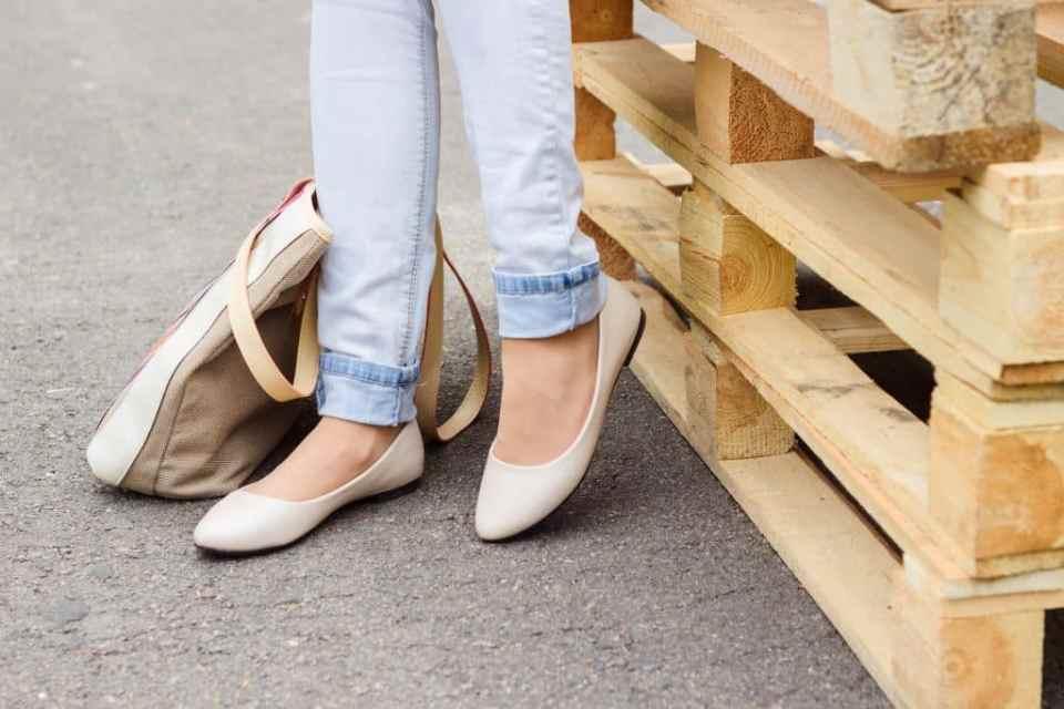 zapato bajito con estilo