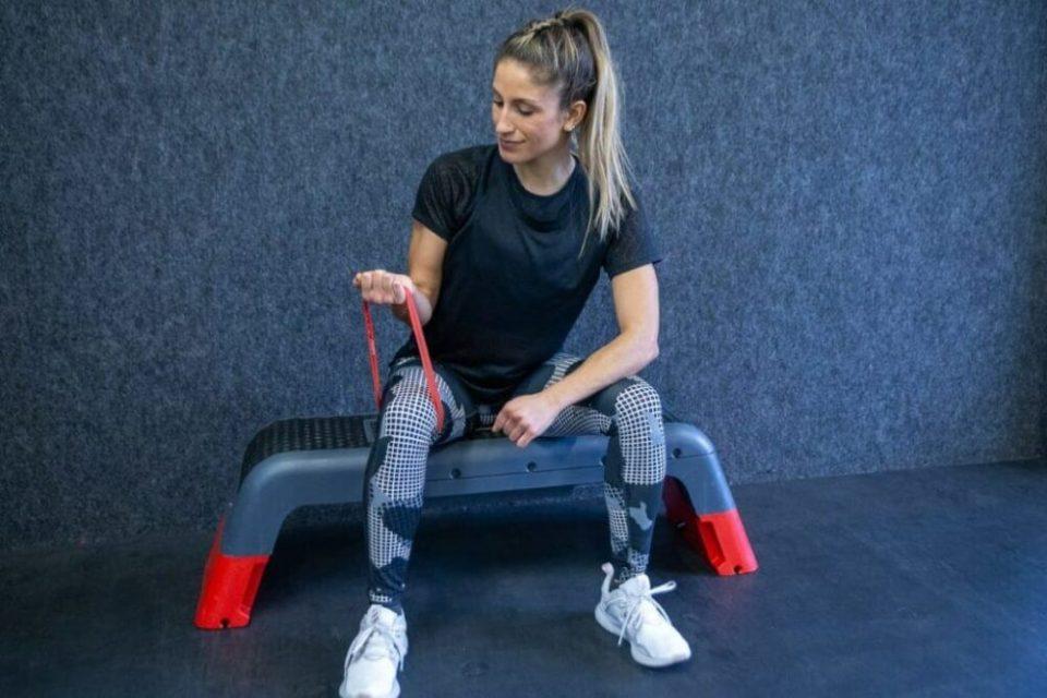 ejercicios goma elastica muñeca