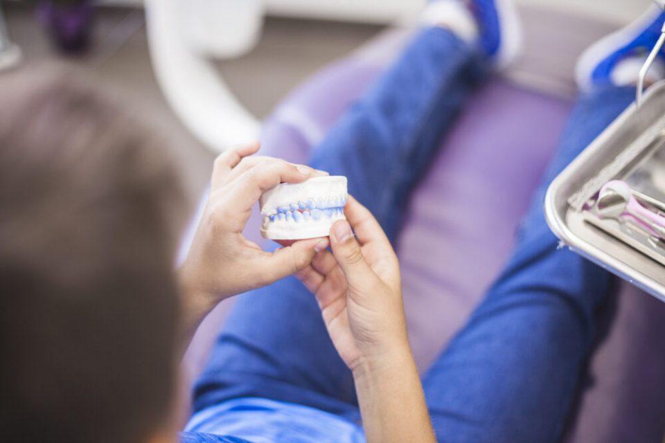 molde ortodoncia infantil