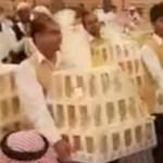 Un 'mar de iPhone 8' inunda una boda en Arabia Saudita