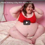 Ella pesa 180 kilos, ¿y qué hace su madre?