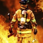 Bombero apaga incendio con cerveza