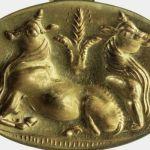 Joyas de oro milenario halladas en Grecia