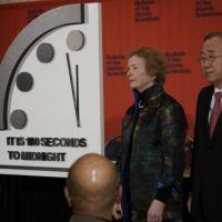 El Reloj del Apocalipsis muy cerca de medianoche